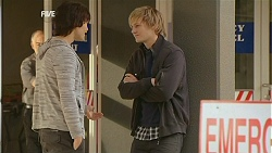 Declan Napier, Andrew Robinson in Neighbours Episode 6006