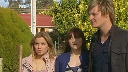 Natasha Williams, Summer Hoyland, Andrew Robinson in Neighbours Episode 6006