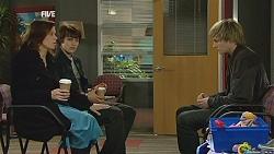 Rebecca Napier, Declan Napier, Andrew Robinson in Neighbours Episode 6007