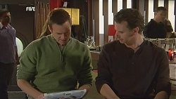 Michael Williams, Lucas Fitzgerald in Neighbours Episode 6008