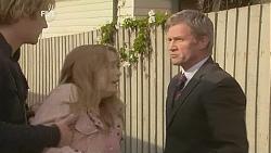 Andrew Robinson, Natasha Williams, Jack Ward in Neighbours Episode 6008