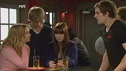 Natasha Williams, Andrew Robinson, Summer Hoyland, Kyle Canning in Neighbours Episode 6008