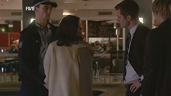 Diana Marshall, Mark Brennan, Andrew Robinson in Neighbours Episode 6008