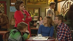 Callum Jones, Lyn Scully, Sonya Mitchell, Toadie Rebecchi in Neighbours Episode 6010