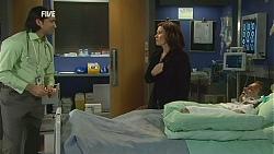 Doug Harris, Rebecca Napier, Paul Robinson in Neighbours Episode 6010