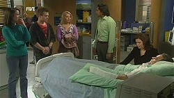 Kate Ramsay, Ringo Brown, Donna Freedman, Doug Harris, Rebecca Napier, Paul Robinson in Neighbours Episode 6010