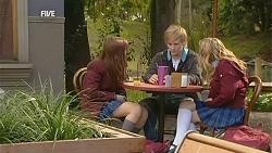 Summer Hoyland, Andrew Robinson, Natasha Williams in Neighbours Episode 6012