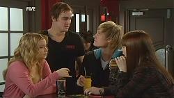 Natasha Williams, Kyle Canning, Andrew Robinson, Summer Hoyland in Neighbours Episode 6012