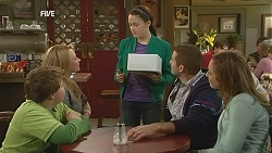 Callum Jones, Steph Scully, Sophie Ramsay, Toadie Rebecchi, Sonya Mitchell in Neighbours Episode 6013