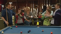 Lucas Fitzgerald, Summer Hoyland, Steph Scully, Sonya Mitchell, Callum Jones, Toadie Rebecchi in Neighbours Episode 6013