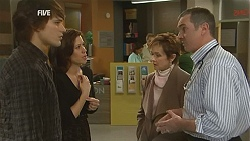 Declan Napier, Rebecca Napier, Susan Kennedy, Karl Kennedy in Neighbours Episode 6014