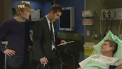 Andrew Robinson, Mark Brennan, Paul Robinson in Neighbours Episode 6016