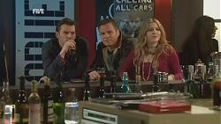 Lucas Fitzgerald, Michael Williams, Natasha Williams in Neighbours Episode 6018