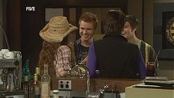 Poppy Rogers, Ringo Brown, Ruby Rogers, Zeke Kinski in Neighbours Episode 6018