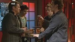 Michael Williams, Zeke Kinski, Ringo Brown, Lucas Fitzgerald in Neighbours Episode 6018
