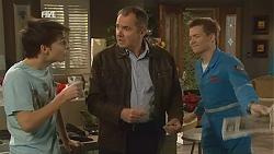 Zeke Kinski, Karl Kennedy, Ringo Brown in Neighbours Episode 6019