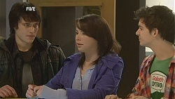 Declan Napier, Kate Ramsay, Zeke Kinski in Neighbours Episode 6019