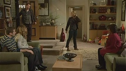 Toadie Rebecchi, Sonya Mitchell, Lucas Fitzgerald, Steph Scully, Lyn Scully in Neighbours Episode 6019