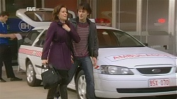 Rebecca Napier, Declan Napier in Neighbours Episode 6021