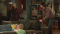 Rebecca Napier, Declan Napier, India Napier in Neighbours Episode 6021