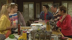Donna Freedman, Ringo Brown, Zeke Kinski, Karl Kennedy, Susan Kennedy in Neighbours Episode 6021