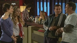 Ruby Rogers, Poppy Rogers, Lucas Fitzgerald, Michael Williams in Neighbours Episode 6022