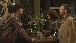 Declan Napier, Rebecca Napier, Paul Robinson in Neighbours Episode 6022