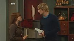 Summer Hoyland, Andrew Robinson in Neighbours Episode 6023