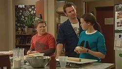 Callum Jones, Lucas Fitzgerald, Sophie Ramsay in Neighbours Episode 6024