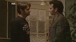 Larry Woodhouse (Woody), Lucas Fitzgerald in Neighbours Episode 6024
