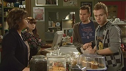 Lyn Scully, Summer Hoyland, Lucas Fitzgerald, Ringo Brown in Neighbours Episode 6025