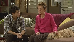 Zeke Kinski, Susan Kennedy, Audrey in Neighbours Episode 6028