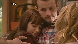Summer Hoyland, Toadie Rebecchi, Natasha Williams in Neighbours Episode 6028