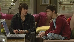 Declan Napier, Zeke Kinski in Neighbours Episode 6029