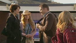 Ruby Rogers, Poppy Rogers, Michael Williams, Natasha Williams in Neighbours Episode 6029