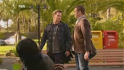 Lucas Fitzgerald, Michael Williams in Neighbours Episode 6030