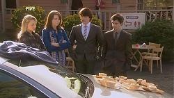 Donna Freedman, Kate Ramsay, Declan Napier, Zeke Kinski in Neighbours Episode 6031