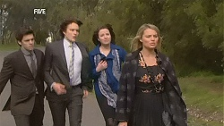Zeke Kinski, Declan Napier, Kate Ramsay, Donna Freedman in Neighbours Episode 6031