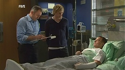 Karl Kennedy, Andrew Robinson, Paul Robinson in Neighbours Episode 6033