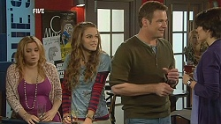Natasha Williams, Poppy Rogers, Michael Williams, Ruby Rogers in Neighbours Episode 6033