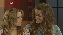 Natasha Williams, Poppy Rogers in Neighbours Episode 6034