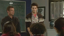 Michael Williams, Zeke Kinski in Neighbours Episode 6034