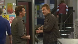 Lucas Fitzgerald, Michael Williams in Neighbours Episode 6034