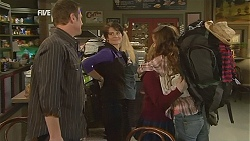 Michael Williams, Ruby Rogers, Natasha Williams, Poppy Rogers in Neighbours Episode 6034