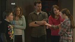 Callum Jones, Sonya Mitchell, Lucas Fitzgerald, Kate Ramsay, Sophie Ramsay in Neighbours Episode 6035