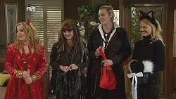 Natasha Williams, Summer Hoyland, Andrew Robinson, Donna Freedman in Neighbours Episode 6035