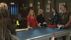 Summer Hoyland, Andrew Robinson, Natasha Williams, Donna Freedman, Kate Ramsay, Lucas Fitzgerald in Neighbours Episode 6035