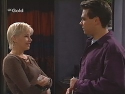 Lucy Robinson, Mark Gottlieb in Neighbours Episode 2418