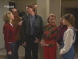 Jen Handley, Philip Martin, Brook Allen, Helen Daniels, Miranda Starvaggi, Hannah Martin in Neighbours Episode 2418