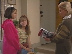 Miranda Starvaggi, Hannah Martin, Helen Daniels in Neighbours Episode 2418